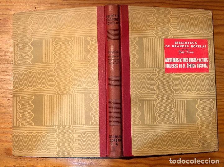 Libros antiguos: JULIO VERNE-AVENTURAS DE TRES RUSOS Y DE TRES INGLESES EN EL AFRICA AUSTRAL(10€) - Foto 2 - 115423835