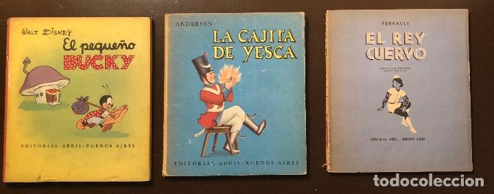 CUENTOS-EDITORIAL ABRIL-BUENOS AIRES-5 CUENTOS(25€) (Libros Antiguos, Raros y Curiosos - Literatura Infantil y Juvenil - Otros)
