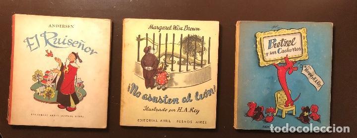 Libros antiguos: CUENTOS-Editorial Abril-Buenos Aires-5 CUENTOS(25€) - Foto 2 - 115425015