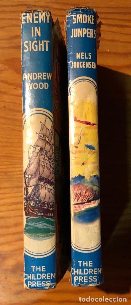 THE CHILDREN PRESS ENEMY IN SIGHT-SMOKE JUMPERS(6€) (Libros Antiguos, Raros y Curiosos - Literatura Infantil y Juvenil - Otros)