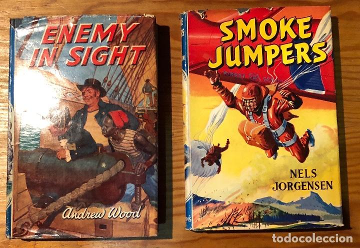 Libros antiguos: THE CHILDREN PRESS ENEMY IN SIGHT-SMOKE JUMPERS(6€) - Foto 2 - 115426431