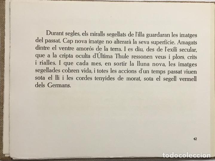 Libros antiguos: PARÀBOLES D'ÚLTIMA THULE. - VIVÓ, Carles. BIBLIOFILIA. 13 AGUAFUERTES. EDICIÓN DE 36 EJEMPLARES. - Foto 9 - 114799390