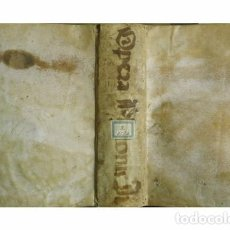 Libros antiguos: FILÓN DE ALEJANDRÍA. OPERA EXEGETICA IN LIBROS MOSIS, DE MUNDI OPIFICIO, HISTORICOS & LEGALES. 1614.. Lote 115457495