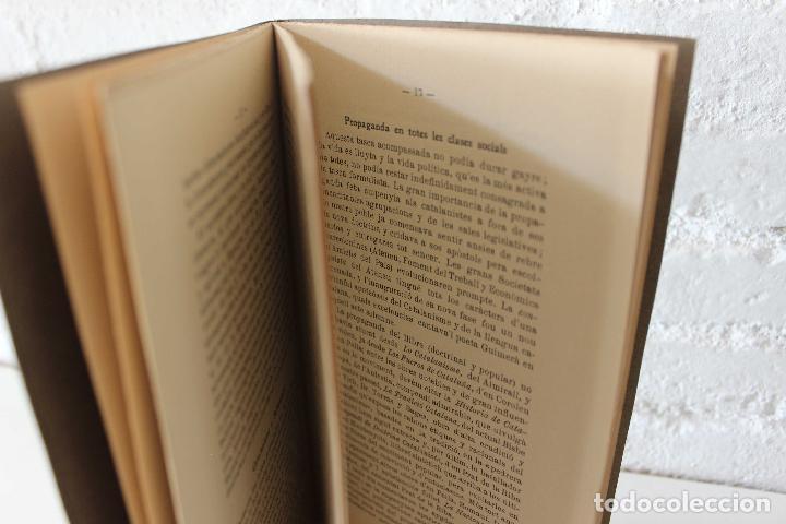 Libros antiguos: Resum sintetich de la historia del catalanisme per E. Moliné y Brasés. La Académica, 1907. Únic! - Foto 4 - 115478047