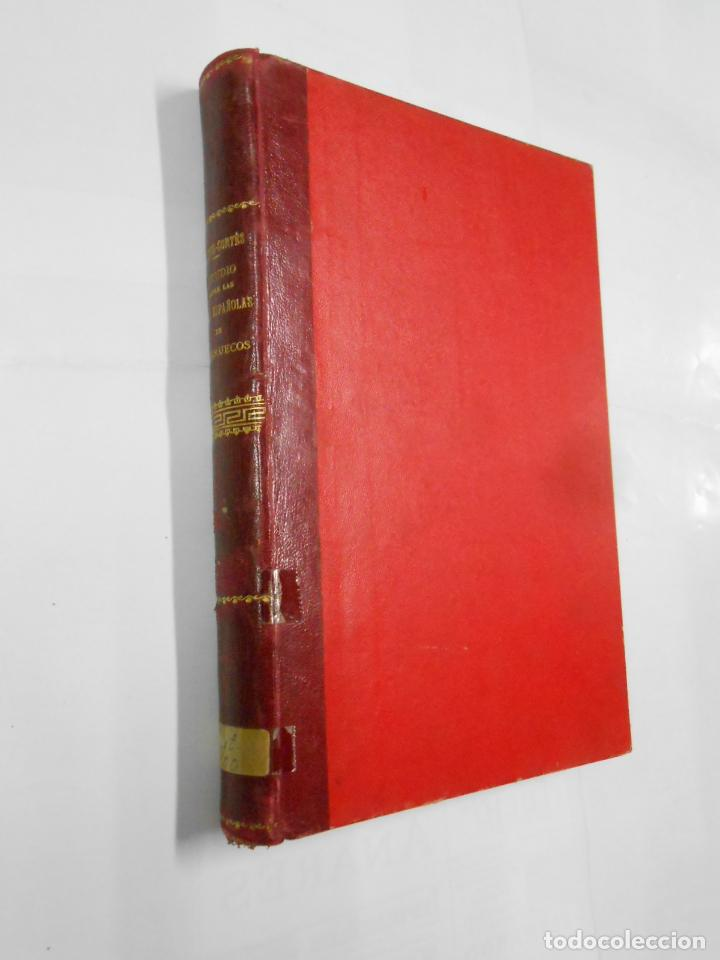 Libros antiguos: ESTUDIO GEOGRAFICO POLITICO-MILITAR SOBRE LAS ZONAS ESPAÑOLAS DEL NORTE Y SUR DE MARRUECOS. TDK336 - Foto 4 - 115503711