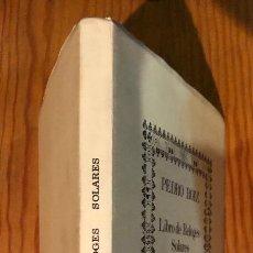 Libros antiguos: LIBRO DE RELOGES SOLARES 1575-PEDRO ROIZ(20€). Lote 115527711