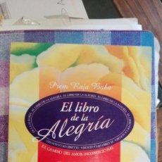 Libros antiguos: EL LIBRO DE LA ALEGRIA, PREM RAJA BABA. ED.SIRIO. Lote 115561411