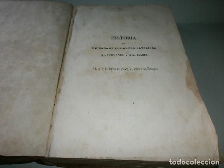 Libros antiguos: HISTORIA DEL REINADO DE LOS REYES CATÓLICOS - WILLIAM H. PRESCOTT - TOMOS II y III - Madrid, 1845. - Foto 4 - 115597791