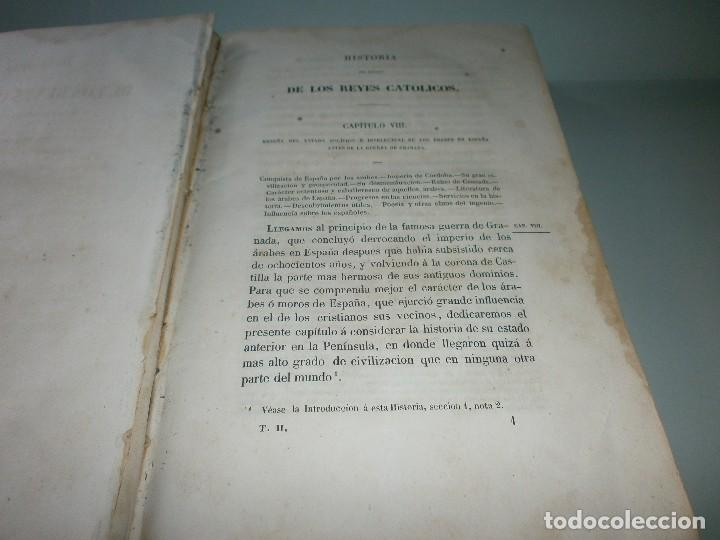 Libros antiguos: HISTORIA DEL REINADO DE LOS REYES CATÓLICOS - WILLIAM H. PRESCOTT - TOMOS II y III - Madrid, 1845. - Foto 6 - 115597791