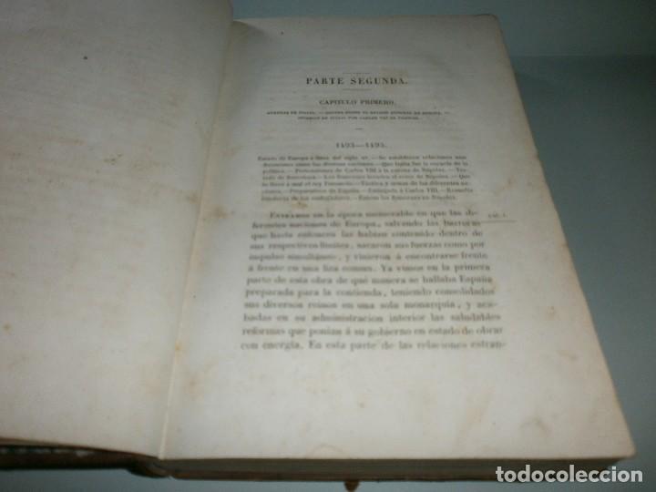 Libros antiguos: HISTORIA DEL REINADO DE LOS REYES CATÓLICOS - WILLIAM H. PRESCOTT - TOMOS II y III - Madrid, 1845. - Foto 14 - 115597791