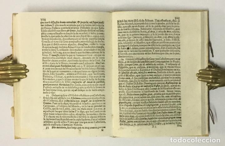 Libros antiguos: JORNADA DE LOS COCHES DE MADRID A ALCALA, o Satisfacion al Palacio de Momo... SALAZAR Y CASTRO, Luis - Foto 8 - 114799150