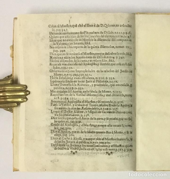 Libros antiguos: JORNADA DE LOS COCHES DE MADRID A ALCALA, o Satisfacion al Palacio de Momo... SALAZAR Y CASTRO, Luis - Foto 9 - 114799150