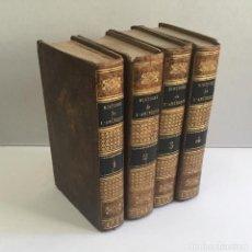 Libros antiguos: L'HISTOIRE DE L'AMERIQUE. - ROBERTSON, M. 4 TOMOS. COMPLETO CON 4 MAPAS. 1778.. Lote 114799118