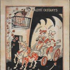 Libros antiguos: BARCELONA HOLLYWOOD. RADIO CINEMA SONOR / V. CASTANYS. BCN, 1935. 20X14CM. 124 P.. Lote 115729831