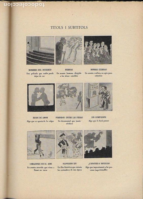 Libros antiguos: Barcelona Hollywood. Radio Cinema Sonor / V. Castanys. BCN, 1935. 20x14cm. 124 p. - Foto 3 - 115729831