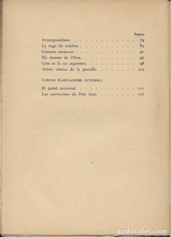 Libros antiguos: Barcelona Hollywood. Radio Cinema Sonor / V. Castanys. BCN, 1935. 20x14cm. 124 p. - Foto 5 - 115729831