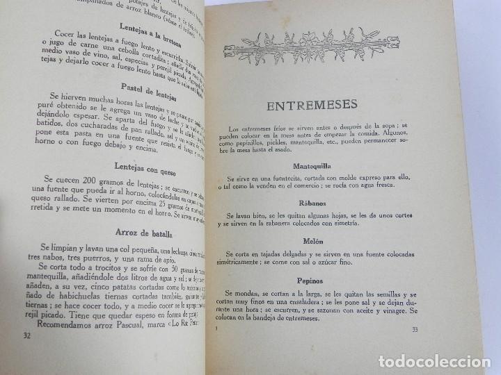 Libros antiguos: LIBRO DE COCINA FAMILIAR. POR MARIA DEL CARMEN (seudónimo de María Vehils y Graus), Colección de rec - Foto 2 - 115802123