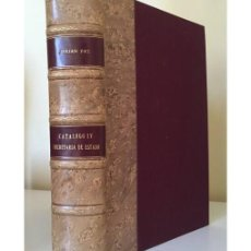 Libros antiguos: ARCHIVO GENERAL DE SIMANCAS. CATÁLOGO IV SECRETARÍA DE ESTADO. I (1265-1714). Lote 115817659