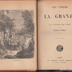Libros antiguos: DUCRAY-DUMINIL: LAS TARDES DE LA GRANJA. PARÍS, SIN FECHA. BIEN ENCUADERNADO. Lote 115890031