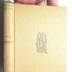 Libros antiguos: EDMON, ALFONS MASERAS 1929 1A ED PROA BIBLIOTECA A TOT VENT 13 . Lote 115939151