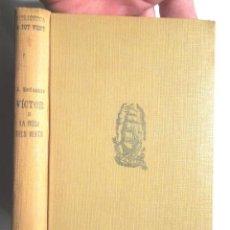 Libros antiguos: VÍCTOR O LA ROSA DELS VENTS A. ESCLASANS 1931 1A ED PROA BIBLIOTECA A TOT VENT 35 AGUSTÍ ESCLASANS. Lote 115940511