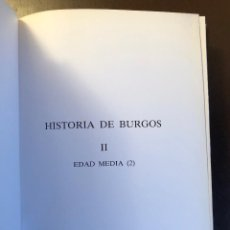Libros antiguos: HISTORIA DE BURGOS (48€). Lote 116215023