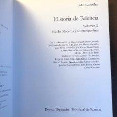 Libros antiguos: HISTORIA DE PALENCIA II -EDADES MODERNA Y CONTEMPORÁNEA (48€). Lote 116215067