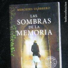Libros antiguos: F1 LA SOMBRAS DE LA MEMORIA .MERCEDES GUERRERO.INEDITO BESTSELLER. Lote 116324707