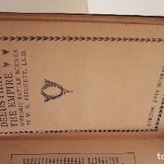 Libros antiguos: MILITAR. FITCHETT. DEEDS THAT WON THE EMPIRE. HISTORIC BATTLE SCENES. . Lote 116331435