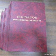 Libros antiguos: SOLDADOS DE LAS GUERRAS DEL SIGLO XX. OBRA EN CUATRO TOMOS. EDICIONES DEL PRADO. LEER.. Lote 116331647