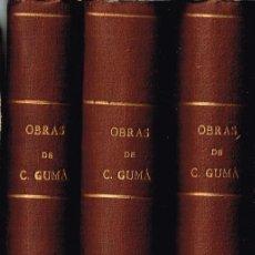 Libros antiguos: OBRAS DE C. GUMÁ.CONJUNT DE 51 OBRES RELLIGADES EN 3 VOLS.JULI FRANCESC GUIBERNAU I PLANAS (C. GUMÁ). Lote 116334127