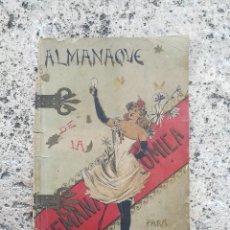 Libros antiguos: ALMANAQUE SEMANA COMICA 1892. Lote 116354763