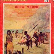 Libros antiguos: JULIO VERNE : ESCUELA DE LOS ROBINSONES (MOLINO, 1934) PRIMERA EDICIÓN. Lote 116377466