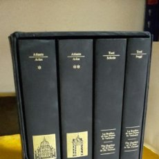Libros antiguos: LA BASÍLICA DE SAN PEDRO EN EL VATICANO.MODENA 2000 COSIMO PANINI EDITORIAL 4 VOLS.. Lote 116380559