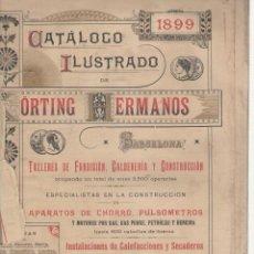 Libros antiguos: NUMULITE L0673 CATÁLOGO ILUSTRADO DE KÖRTING HERMANOS TALLERES FUNDICIÓN CALDERERÍA CONSTRUCCIÓN. Lote 116398031