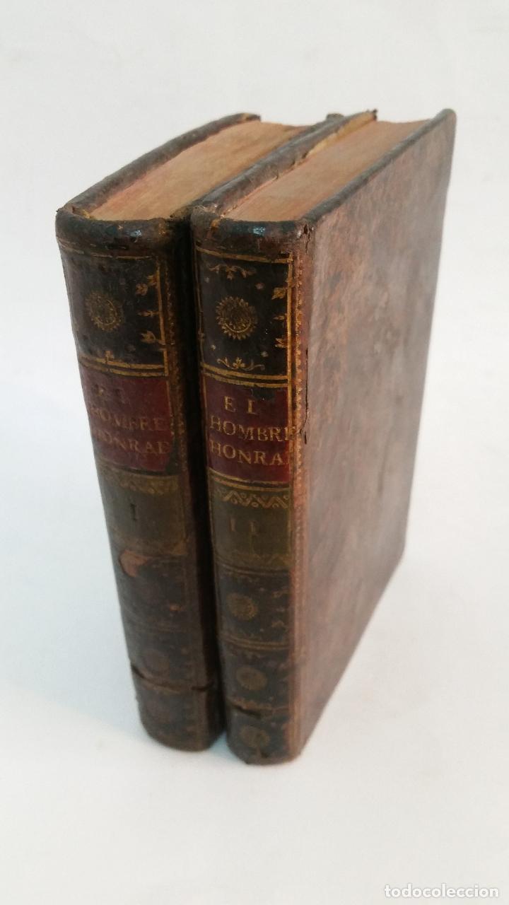 1792 - MAYDIEU - EL HOMBRE HONRADO - 2 TOMOS, COMPLETO (Libros Antiguos, Raros y Curiosos - Pensamiento - Otros)