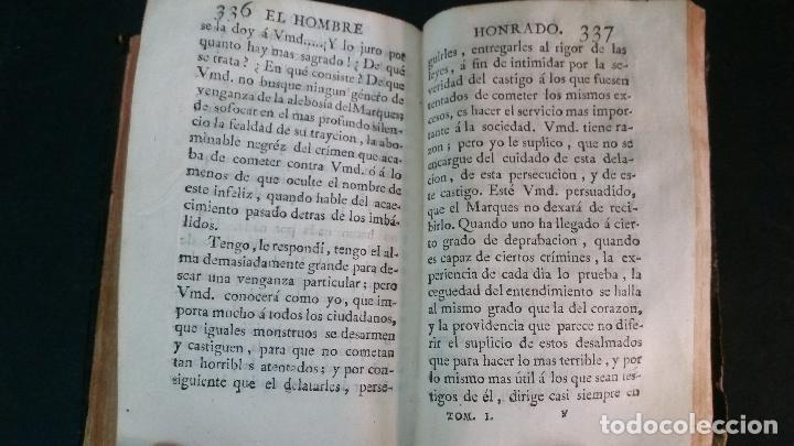 Libros antiguos: 1792 - MAYDIEU - EL HOMBRE HONRADO - 2 TOMOS, COMPLETO - Foto 6 - 116507839
