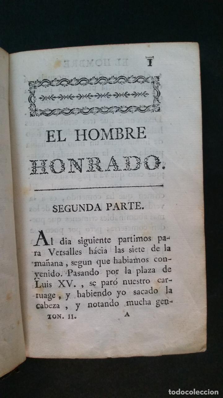 Libros antiguos: 1792 - MAYDIEU - EL HOMBRE HONRADO - 2 TOMOS, COMPLETO - Foto 8 - 116507839