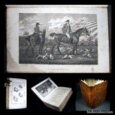 Libros antiguos: AÑO 1803 PRIMERA EDICIÓN THE SPORTING DICTIONARY ZOOLOGÍA RARO DICCIONARIO DE LOS DEPORTES GRABADOS. Lote 116517511