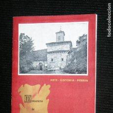 Libros antiguos: F1 ARTE HISTORIA POESIA MONASTERIO DE SUSO POR TARSICIO LAGARRAGA GUARDA DE SUSO . Lote 116519415