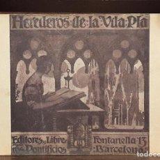 Libros antiguos: HEREDEROS DE LA VIUDA PLA. SIGLOS XVII AL XX. JAIME BARRERA. 1916.. Lote 222722618