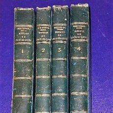 Alte Bücher - HISTOIRE DU RÈGNE DE L´EMPEREUR CHARLES-.QUINT .(4 TOMOS, 1822) - 116598947