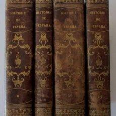 Libros antiguos: HISTORIA GENERAL DE ESPAÑA Y DE SUS INDIAS - VICTOR GEBHARDT - AÑO 1864. Lote 116604095