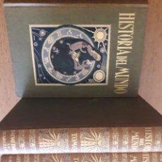 Libros antiguos: HISTORIA DEL MUNDO 5 TOMOS / J. PIJOAN / EDI. SALVAT EDITORES / 1ª EDICIÓN 1926. Lote 116677803