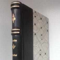 Libros antiguos: WERTHER (1874) / GOETHE. BIBLIOTECA UNIVERSAL ¡¡ ENCUADERNACIÓN ARTESANAL !!. Lote 116680971