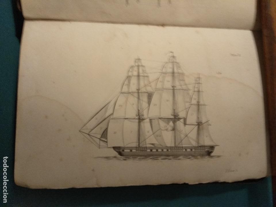 Libros antiguos: Dana, R.H. The seamans manual. 1851. Aparejo y maniobra de los veleros. - Foto 3 - 116624843