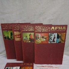Libros antiguos: COLECCIÓN COMPLETA AFHA MÉTODO PRÁCTICO DE CORTE Y CONFECCIÓN AÑO 1971 . Lote 149249393