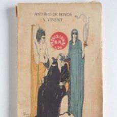 Libros antiguos: EL HORROR DE MORIR - ANTONIO DE HOYOS Y VINENT. Lote 116921795