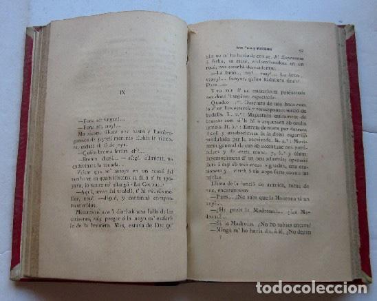 Libros antiguos: LA COLLA DEL CARRER - JOAN PONS MASSAVEU - CON DEDICATORIA AUTOGRAFIADA DEL AUTOR - AÑO 1887 - Foto 4 - 116930839