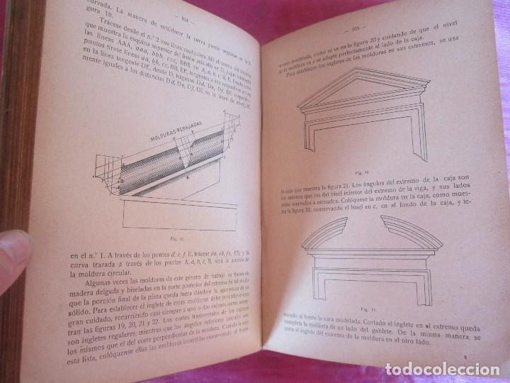 Libros antiguos: MANUAL DE CARPINTERÍA MODERNA - F.T. HODGSON 600 GRABADOS 1914 - Foto 7 - 116995827